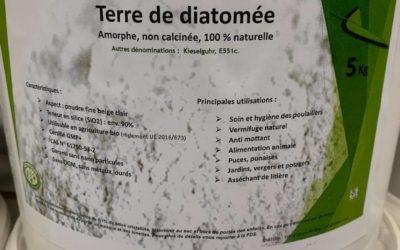 Terre de diatomée à Saint Dié